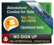 Complete updated daily list of Condos for sale in Abbotsford