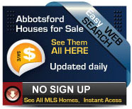 Complete updated daily list of houses for sale in Abbotsford